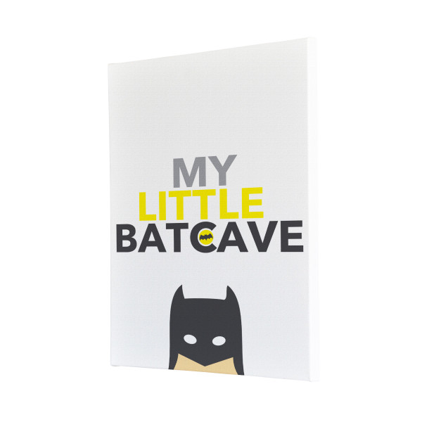 My Little Batcave Canvas