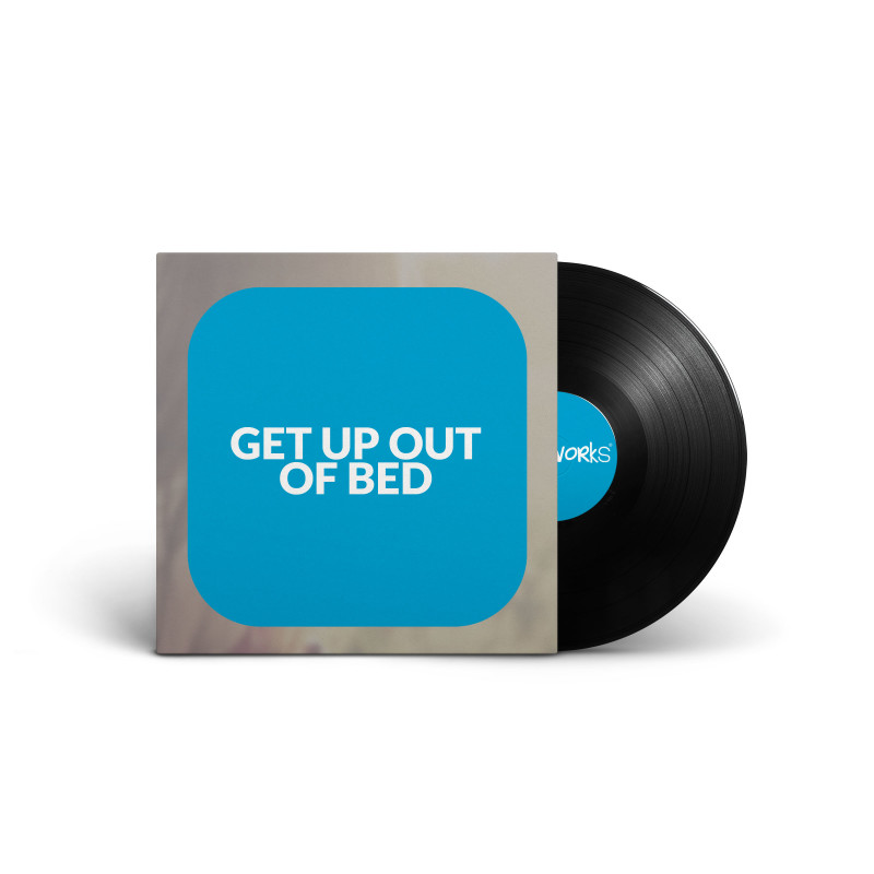 get up out of bed corporate motivational royalty free audio track