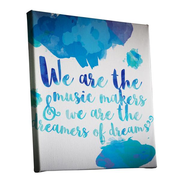 Willy Wonka Watercolour Canvas Print Design Melbourne Australia buy canvas online