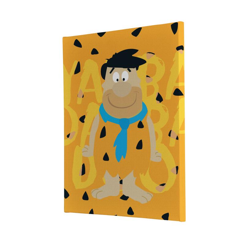 The Flinstones Fred Flintstone Canvas Print