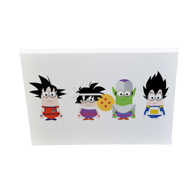 Dragon Ball Minions Canvas Print